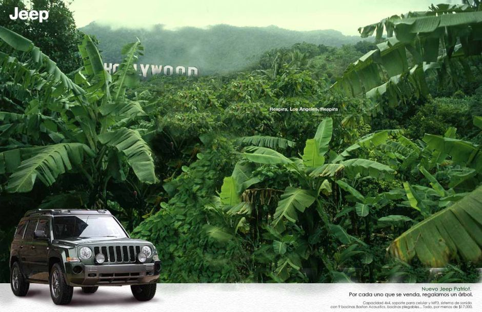 Jeep Patriot. Hollywood.