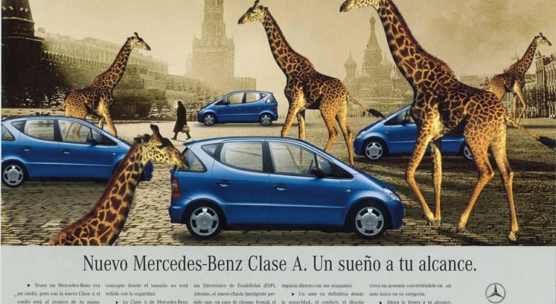 Mercedes-Benz A Class.