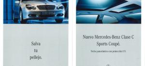 Mercedes-Benz C Class Sport Coupe.
